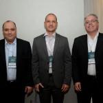 Alberto Cestrone, da Resorts Brasil, Rodrigo Napoli, da GJP, e Ricardo Domingues,da Resorts Brasil