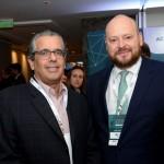 Alberto Ribeiro, da B&F Assessoria, e Abel Castro, da Accor Hotels
