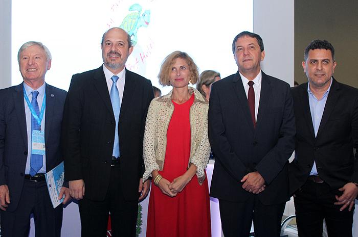 Alejandro Rubin, João Barbiero, Nara Castro, Chico Brasileiro e Gilmar Piolla