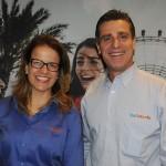 Alexandra Katopodis e Patrick Yvars, do Visit Orlando