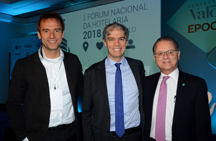 Alexandre Gehlen, Ricardo Amorim e Orlando Souza