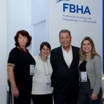 Alexandre Sampaio, presidente da FBHA, e sua equipe