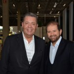 Alexandre Sampaio, da FBHA, e Guilherme Paulus, da GJP