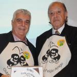Alfredo Lopes, presidente da ABIH-RJ, e Michel Tuma Ness, presidente da Fenactur e fundador do Clube do Feijão Amigo