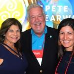 Ana Fernandez, Tony Satterfield e Andrea Gabel, de St. Pete Clearwater