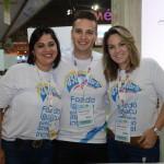 Ana Guedes, Odirley Siviero e Viviane Camargo, do Mabu Hotéis