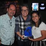 Ana Maria Berto e Juliana Ribeiro, da Orinter, receberam o prêmio de 2º lugar na categoria Operadoras
