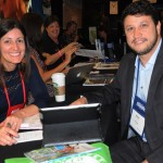 Andrea Gabel, de St Pete Clearwater, e Adonai Arruda Filho, da BWT