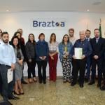 Associados da Braztoa que compareceram ao evento