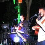 Banda animou a noite com musicas regionais