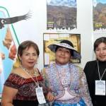 Beatriz Zevellhos e equipe do Peru