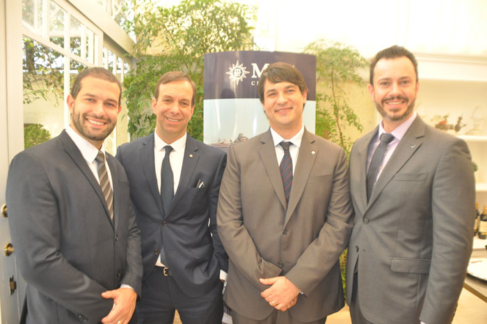 Bruno Cordaro, Adrian Ursilli, Ignacio Palacios e Eduardo Mariani, da MSC