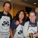 Bruno Giovanni, do RIOgaleão, Julieta Salim, da Setur-RJ, e Miriam Cutz, da Turisrio