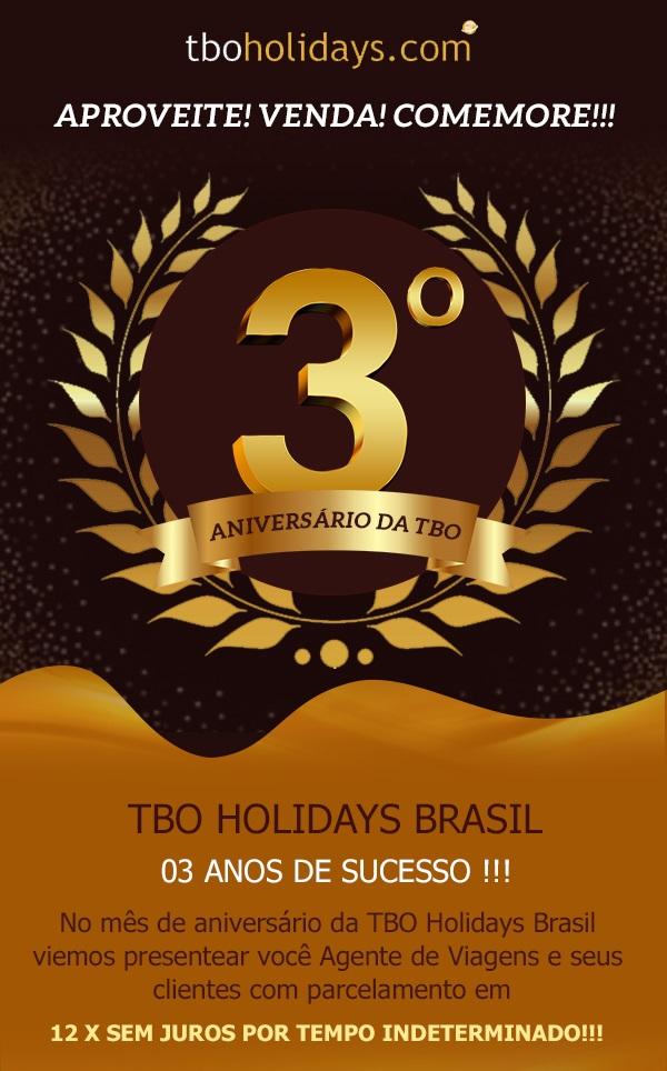 Campanha 3 anos no Brasil