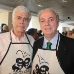 Carlos Alberto Amorim, da Ancoradouro, e Nilo Felix, secretário de Turismo do RJ