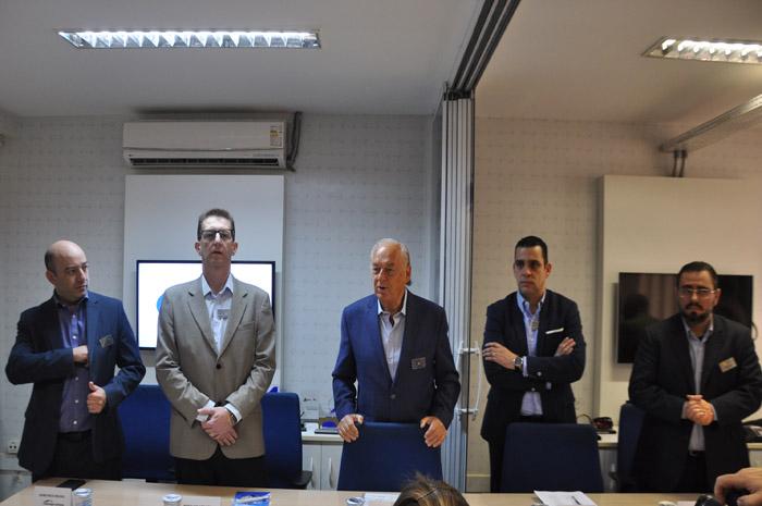 Coletiva reuniu o presidente e diretores do Grupo Arbaitman