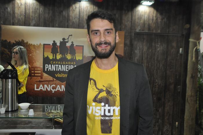 Bruno Wendling, diretor-presidente da fundação de turismo de Mato Grosso do Sul