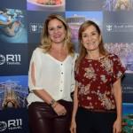 Denise Peres, da Exupery Viagens, e Selma Caetano de Souza, da MSS
