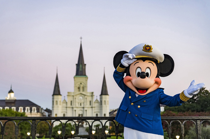 In 2020, the Disney Wonder will embark on a variety of Caribbean and Bahamian cruises from New Orleans – the first time Disney Cruise Line will have a home port in Louisiana. The limited-time season includes four-, six- and seven-night Western Caribbean sailings; a seven-night Bahamian cruise; and a 14-night Panama Canal voyage, departing Feb. 7 through March 6. (Matt Stroshane, photographer)