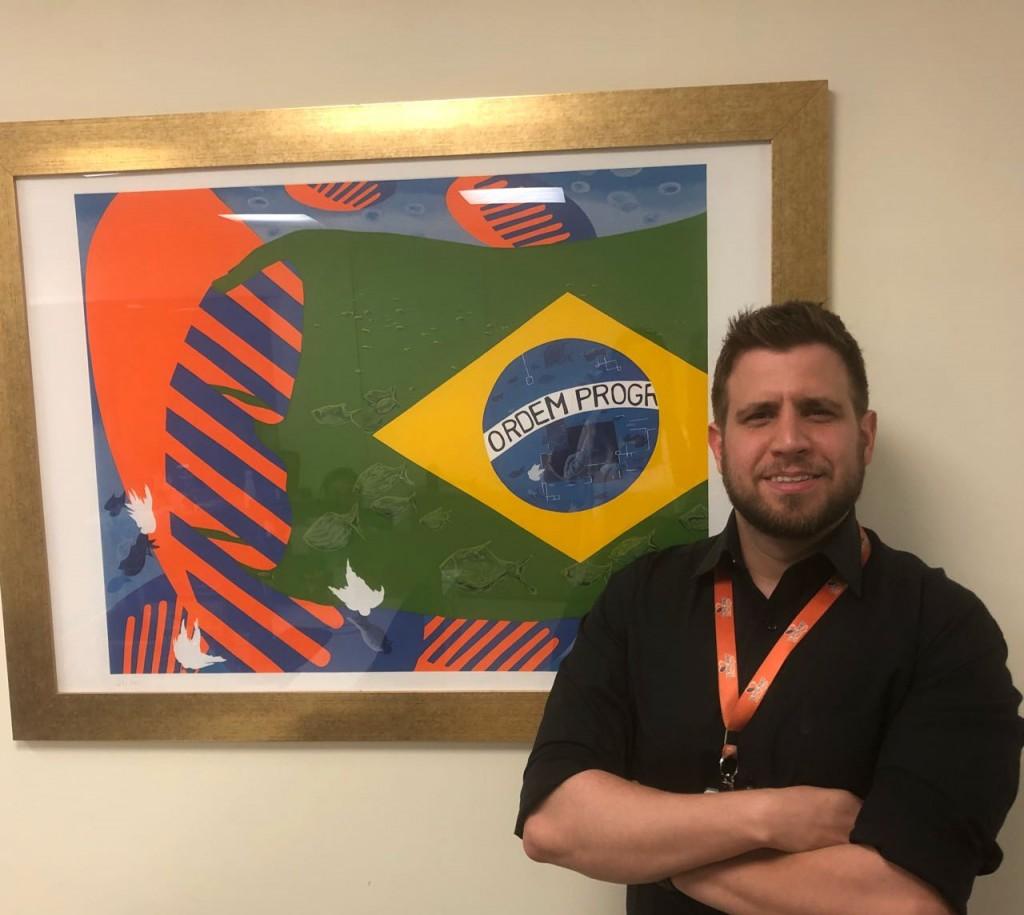 Eduardo Vansan, gerente da Flytour MMT Viagens de Belo Horizonte
