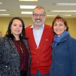 Elisângela Corsi e Ingrid Davidovich, da New Age, e Ricardo Campos, da Trade Tours