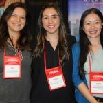 Erica Valbuena, Valentina Perez e Juliana Batista, do Atlantis Paradise Island Bahamas
