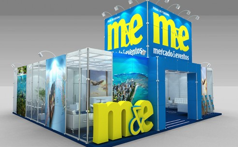 Confira como será o estande de 100m² do M&E na Abav Expo 2018