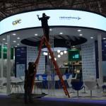 Estande da CVC Corp