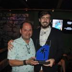 Eyago Alves recebeu o prêmio pela Agaxtur, na categoria Operadoras