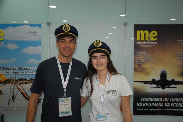 Fábio Barbosa e Ana Guerreiro da ANPF