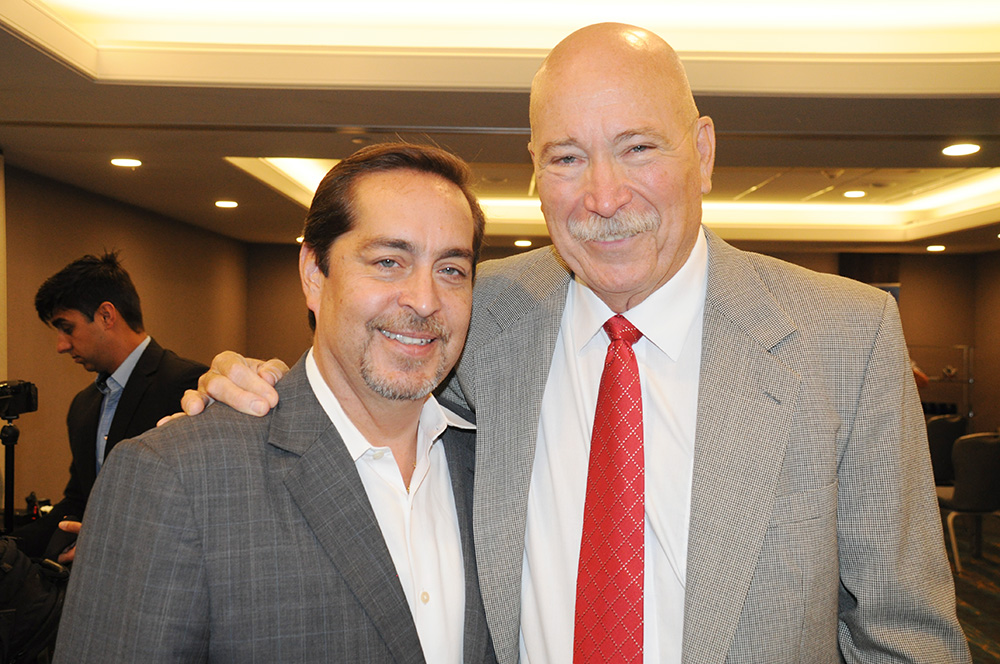 Fernando Harb, VP de Vendas do Greater Fort Lauderdale CVB, e Rick Still, diretor do La Cita