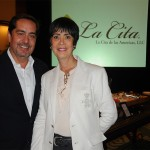 Fernando Harb, de Fort Lauderdale, e Marina Barros, da MB Doubleem