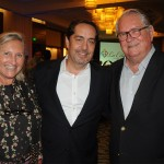 Fernando Harb, do Fort Lauderdale CVB, com Rosa Masgrau e Roy Taylor, do M&E