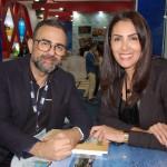 Geninho Góes e Patricia Schaubler, da BNT Mercosul