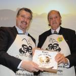 George Durante, gerente geral do Rio Othon, e Michel Tuma Ness, presidente da Fenactur
