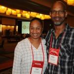 Giovanni Grant e Raquel Carey, de Bahamas