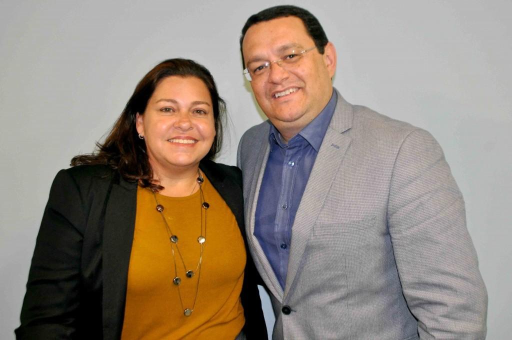 Gisela Maranhão e Lucio Oliveira, da 4C Solutions