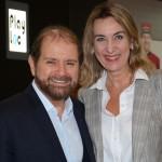 Guilherme Paulus, da GJP, e Luciane Leite, da WTM-LA