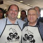 Hamilton Vasconcellos, VP da Turisrio, e Salvador Saladino, presidente da BITO