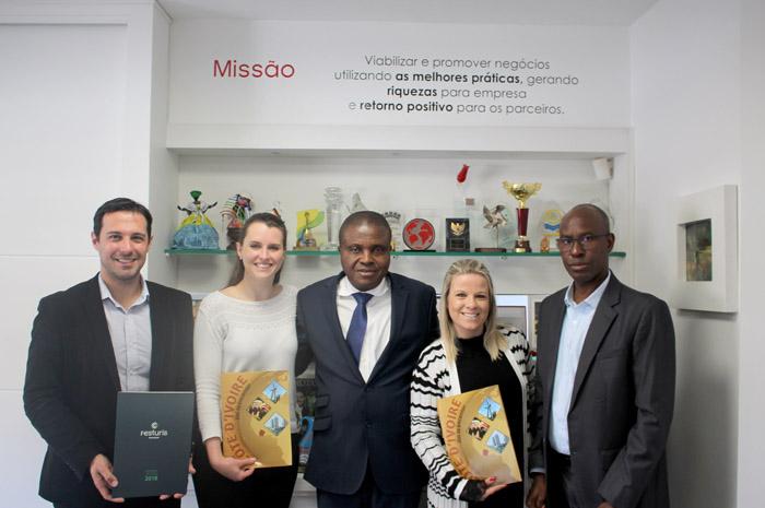 Representantes do país estiveram no Brasil para discutir a participação no evento