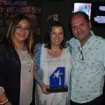 Jaqueline Rodrigues recebeu o prêmio pela MGM Operadora
