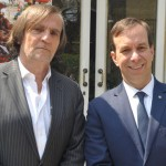 Jean-Philippe Perol, diretor da Cap Amazon, e Adrian Ursilli, diretor geral da MSC no Brasil