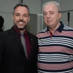 Leandro Marcel Garcia, presidente do Fornatur, e Nilo Felix, secretário de Turismo do Rio de Janeiro