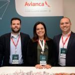 Leonardo Lazzarato, Raquel Nuvolari e Adriano Palombo, da Avianca
