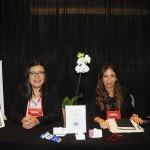 Lourdes Acevedo e Cristina Calisto, do Aventura Mall Hotel