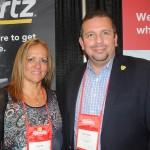 Lourdes Vera e Juan Carlos, da Hertz Corporation