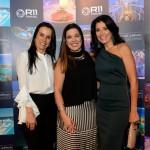 Luciana Carvalho, da Cia Maritima, Sabrina Moretti, da R11, e Patricia Leone, da Top Travel