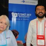 Lupita Villeta e Mauricio Castro, da Travel Ace