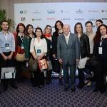 Manuel Gama, da Rede Travel Inn, com seus colaboradores