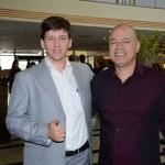 Marcelo Perim, da Abav-TO, e Ney Gonçalves, da Abav-MS